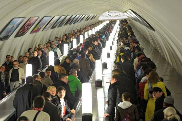 รถไฟใต้ดินรัสเซีย