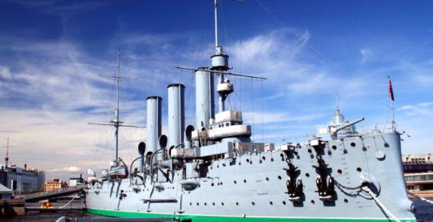เรือรบออโรร่า สัญลักษณ์การปฏิวัติตุลาคม