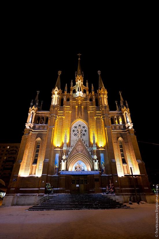 โบสถ์คริสต์คาทอลิกในมอสโคว์
