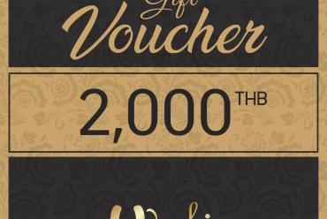 Free Gift Voucher 2000 THB