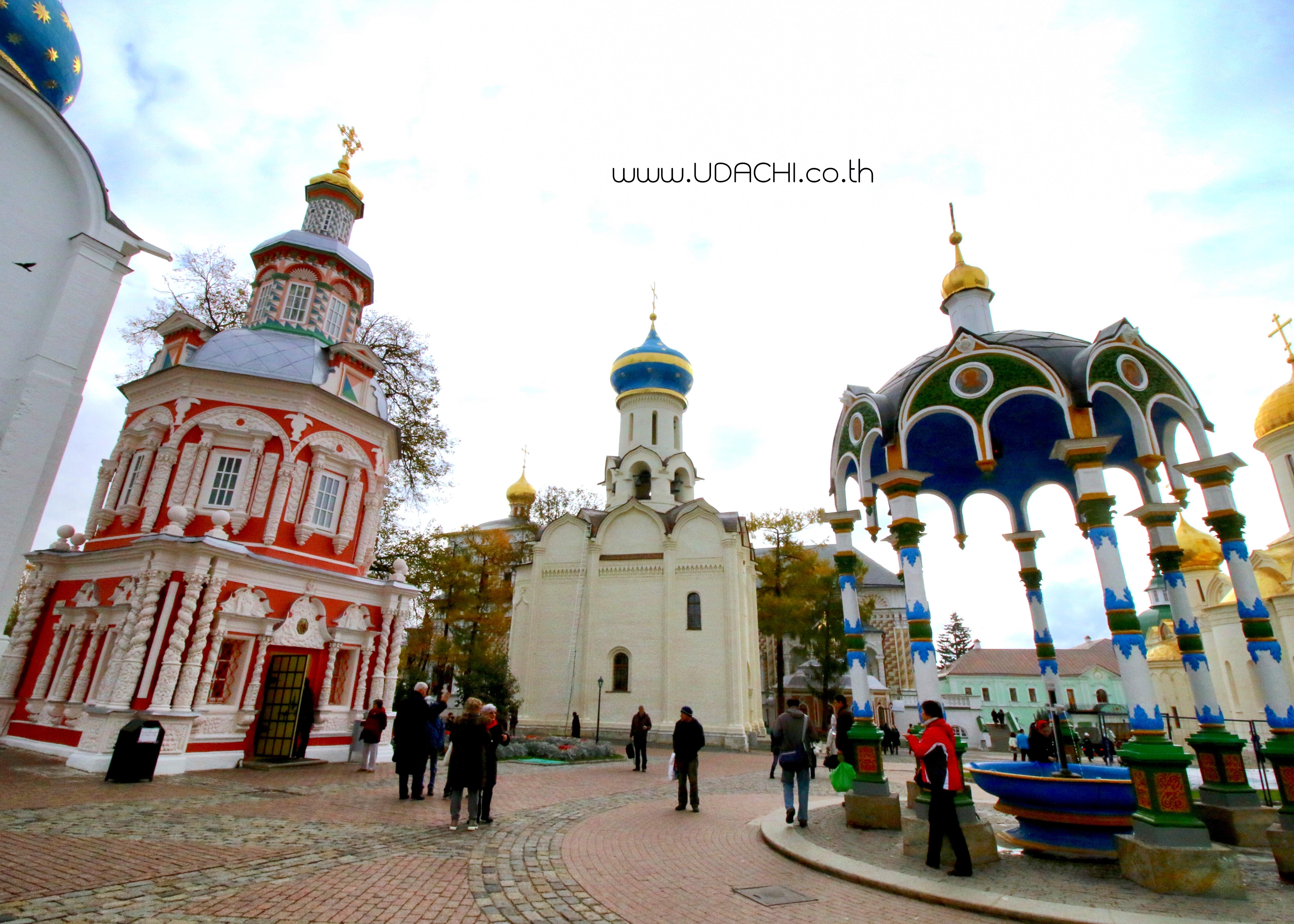 ซากอร์ส เมืองศูนย์กลางรัสเซียนออธอดอกซ์